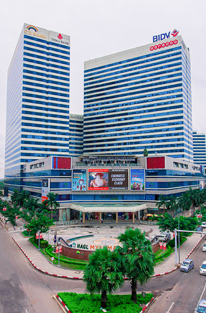 Office Tower Myanmar | Business Centre Yangon | Best Office Yangon